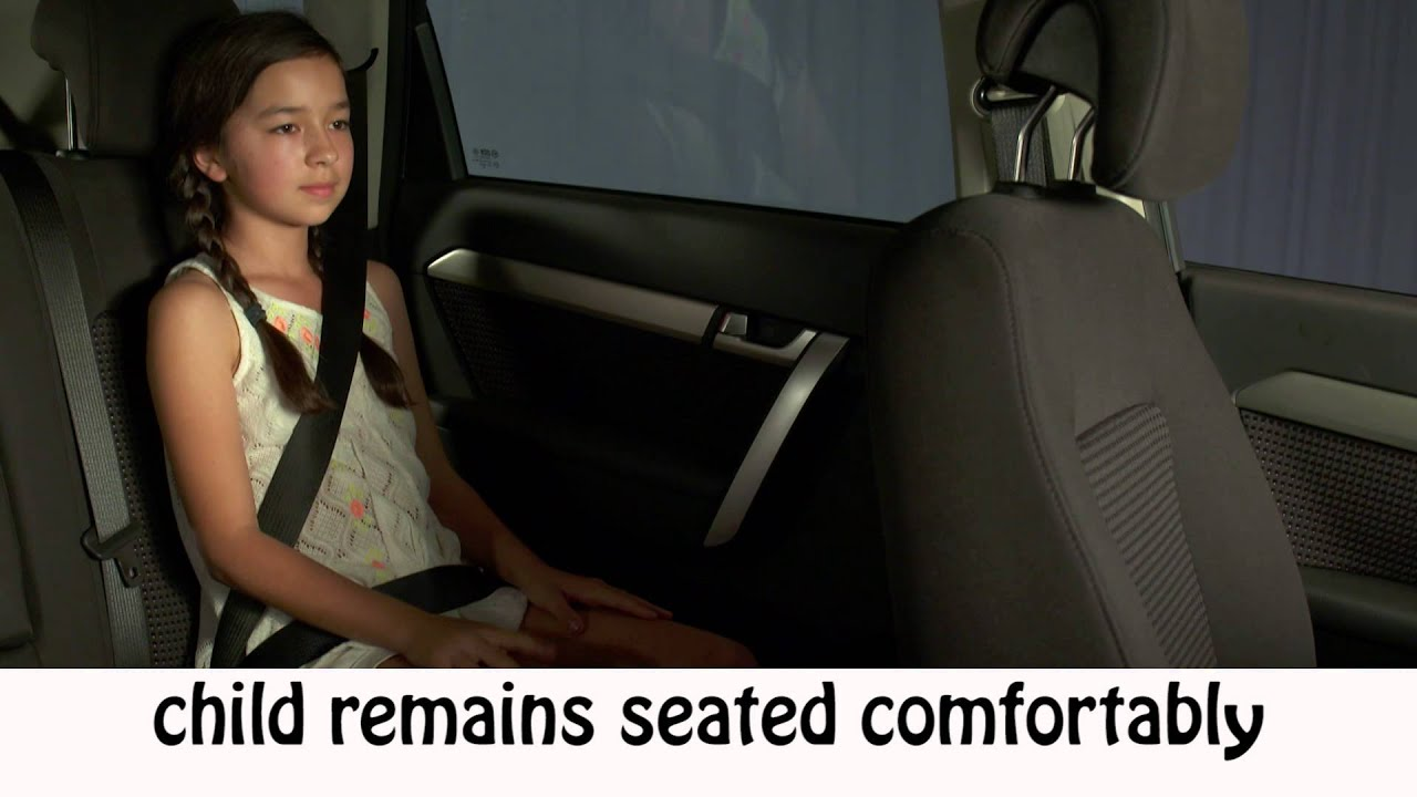 What age can I transition children from a car Booster Seat? - YouTube