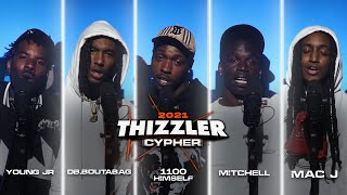 DB.Boutabag, Mac J, Young Jr, 1100 Himself & Mitchell (Prod. YvnngEcko)    Thizzler Cypher 2021