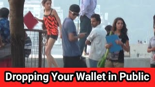 Dropping your Wallet in Public- Social Experiment (Mumbai)