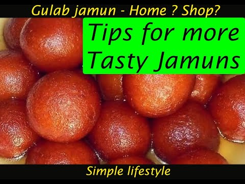 Gulabjamun| Simplelifestyle| Tips for tasty gulabjamun at home| Secret Recipe from YouTube · Duration:  3 minutes 50 seconds