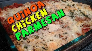 Healthy Quinoa Chicken Parmesan Recipe (low Fat)