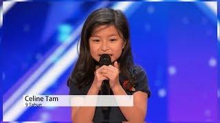 Suara yang indah, audisi america's got talent