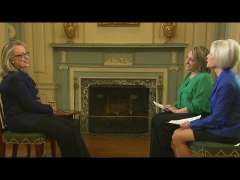 Clinton reflects on time as secretary of state