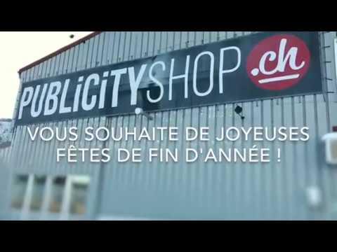 Joyeuses Fêtes - Publicity Shop
