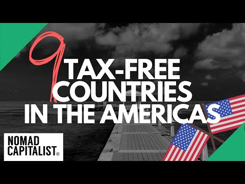 Tax-Free Countries in the Americas