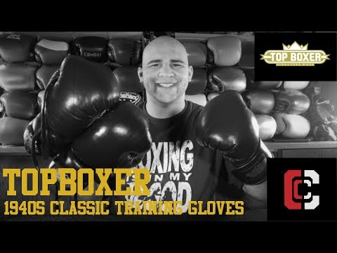 TopBoxer Old School Boxing Gloves Review