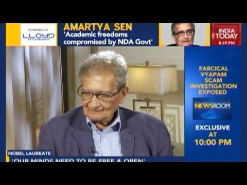 Amartya Sen Opines Modi Govt 'Not Good For India'