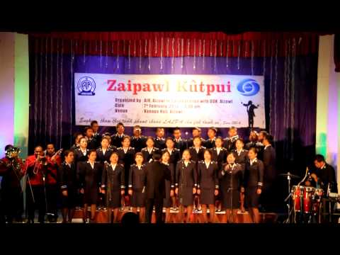 Territorial Songsters IET - Send The Fire/O Boundless Salvation (Live@ Zaipawl Kutpui, Vanapa Hall)