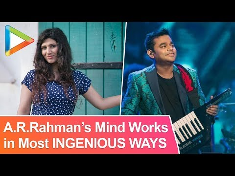 "Shashaa Tirupati: ""A.R's Mind Works In Most Ingenious Ways"" 