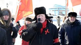 «Нет сокращениям и обману!»: якутские коммунисты прошлись колонной в честь 7 ноября