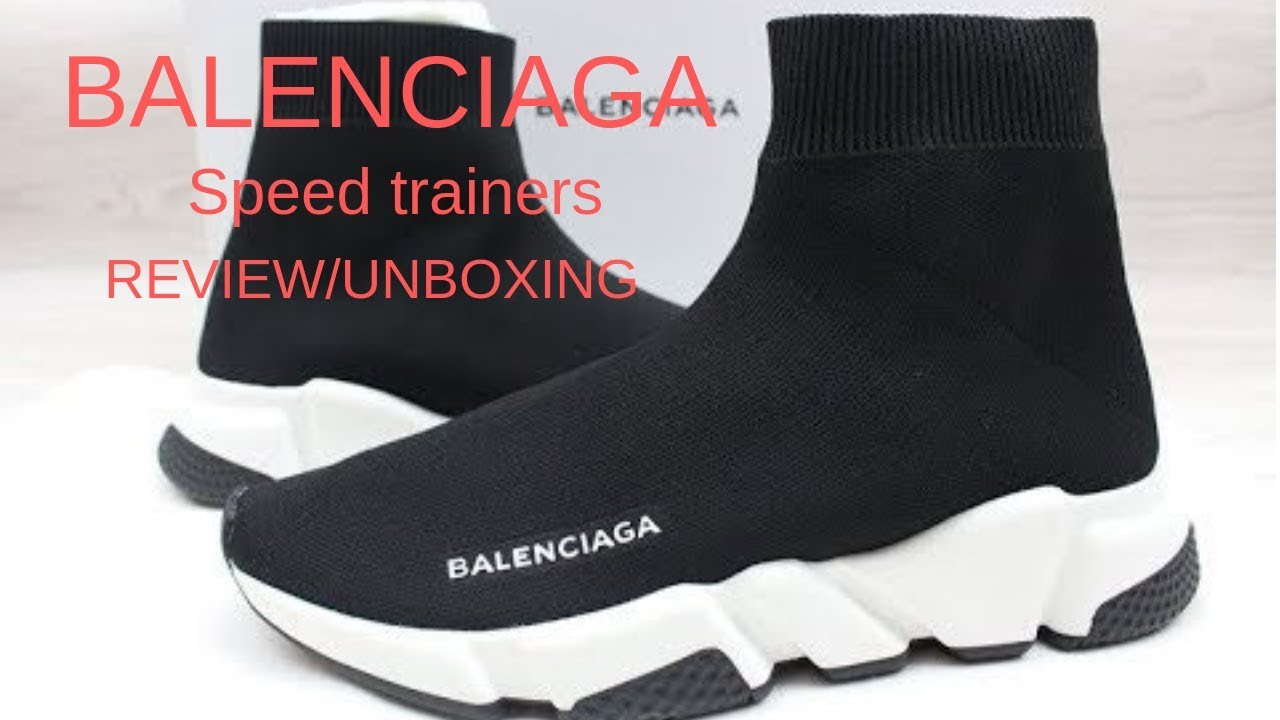 Balenciaga Speed trainers review