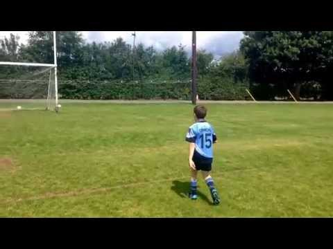 Basic Gaelic football skills