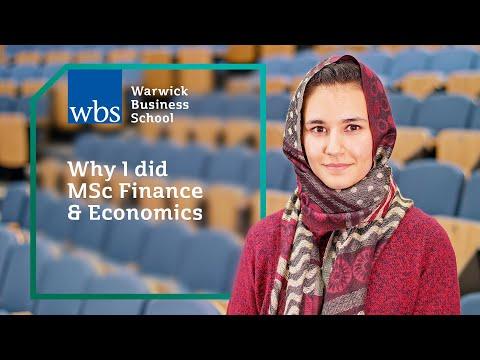 Why I did MSc Finance & Economics