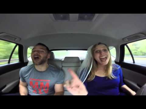 "AGAG - Car Ride Lip Sync ""The Time of My Life"""