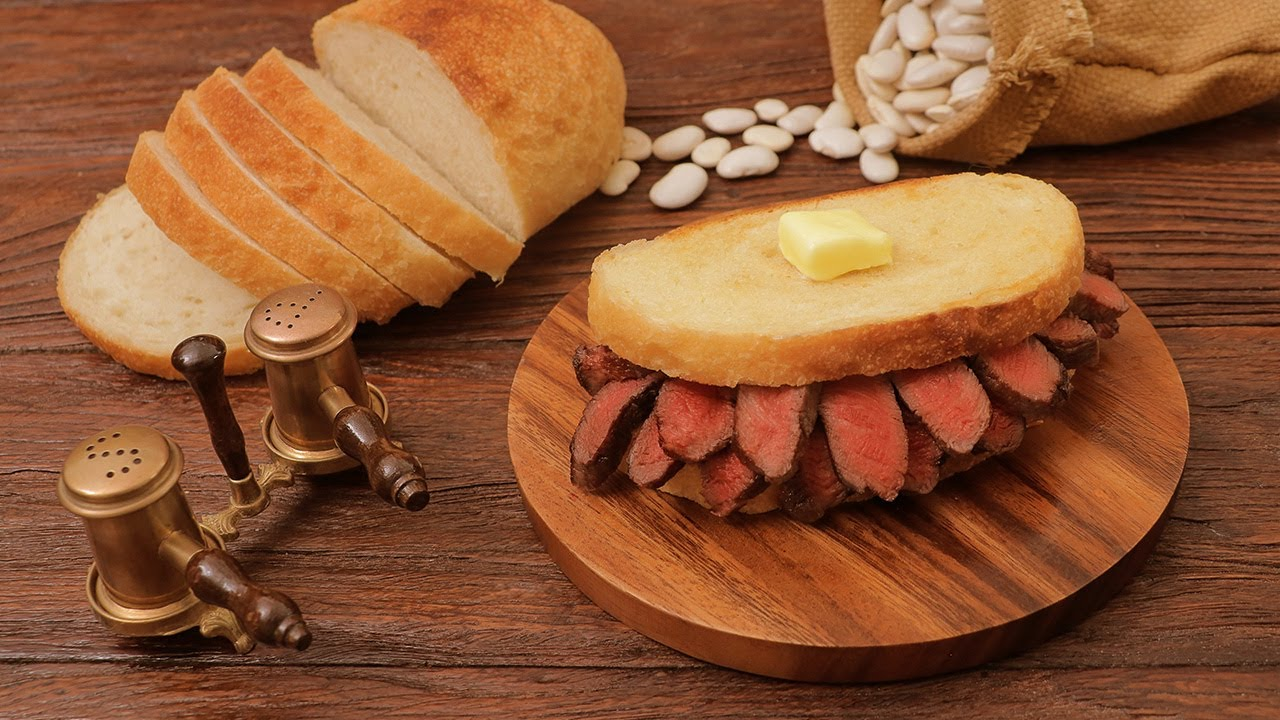 Download ASMR   THE ULTIMATE STEAK SANDWICH RECIPE