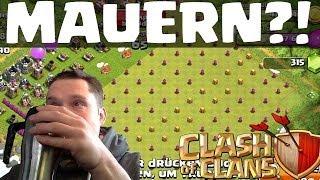 [facecam] MAUERN?! || CLASH OF CLANS || Let's Play COC [Deutsch/German HD]