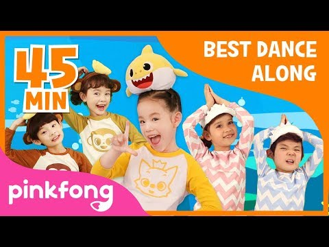 Baby Shark Dance and more | Best Dance Along | +Compilation | Pinkfong Songs for Children Mp3