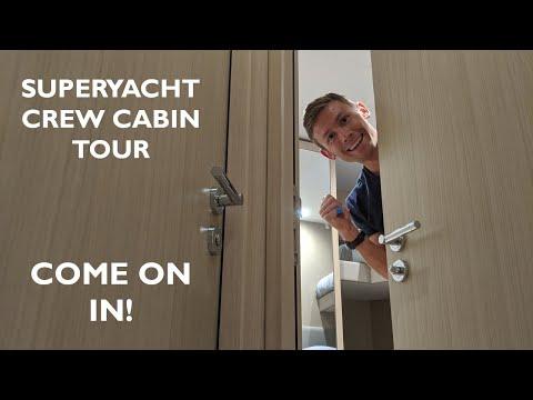 The Grand Superyacht Crew Cabin TOUR