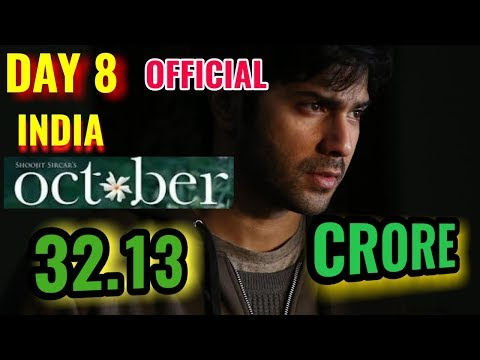 OCTOBER BOX OFFICE COLLECTION DAY 8 | INDIA | VARUN DHAWAN