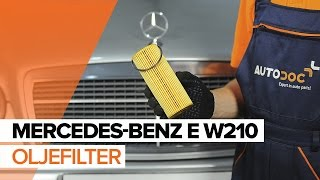 Vedlikehold Mercedes W211 - videoguide