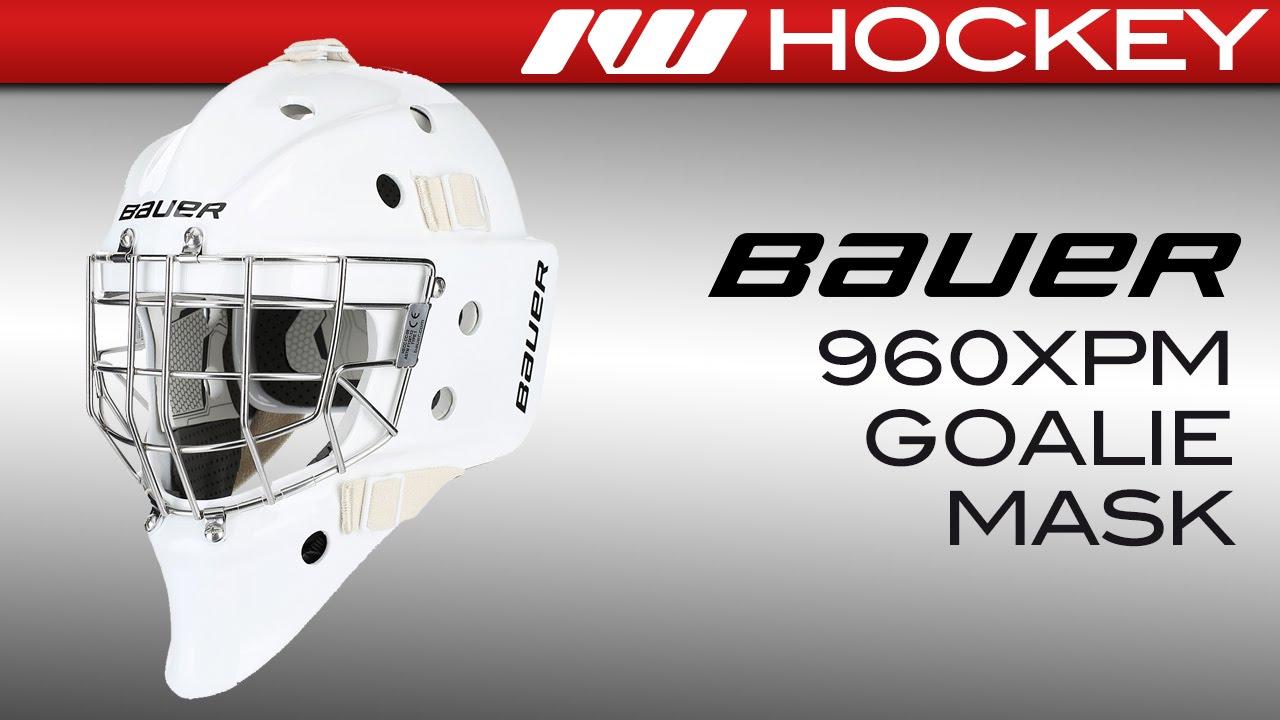 eff1cbfef09 Bauer Profile 960XPM Goalie Mask Review - YouTube