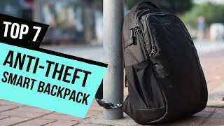 7 Best Anti Theft Smart Backpacks Reviews