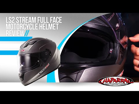 LS2 Stream Full Face Motorcycle Helmet Review