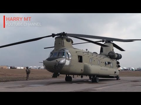 The Fastest US Military Helicopter in the World | Has a Maximum Speed of 315km/h | CH-47F Chinook
