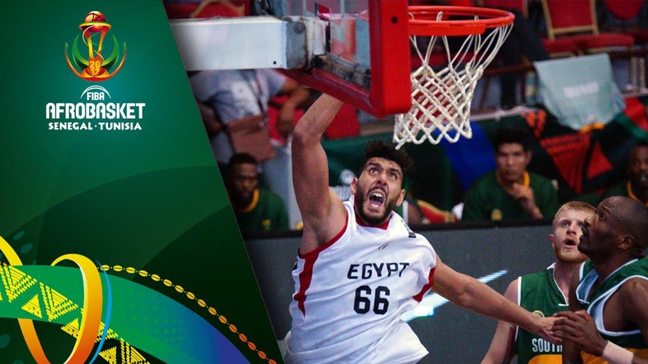 Egypt v South Africa - Full Game - FIBA AfroBasket 2017