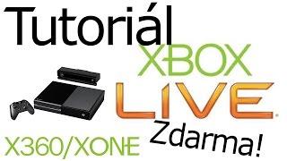 Český Tutoriál Xbox Live Gold ZDARMA
