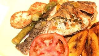 How To Make Jamaican Steam Fish With Jamaican Crackers Video