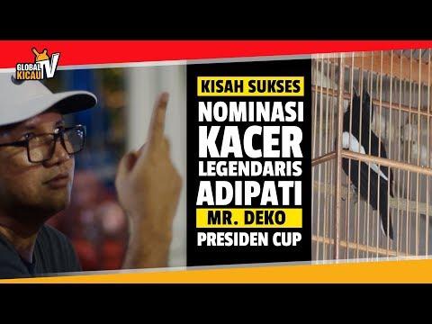 PRESIDEN CUP V : Siapakah Musuh Kacer ADIPATI? Wawancara Ekslusif Mr.Deko Pemilik ADIPATI