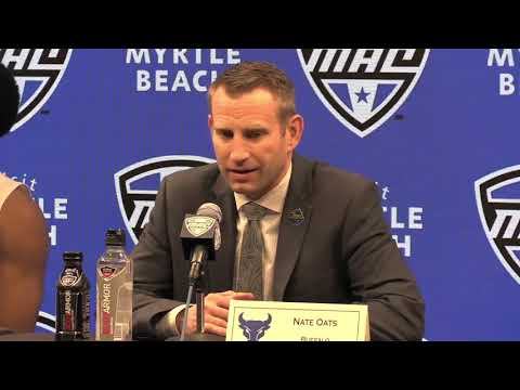 MAC Basketball Tournament 2019: Coach Nate Oats talks about Buffalo's victory over Central Michigan