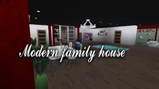 Bloxburg modern family house | Speed build | Roblox | San Mo