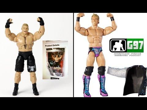 WWE Mattel Elite 45 Line-up - Gamestop Brock - E44.5 Pics | Wrestling Figure Observer Podcast #4