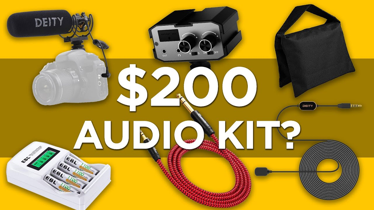 Interview Audio Kit for Under $200! | Budget Sound Kit Challenge