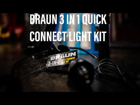 Braun 3 in 1 Quick Connect Light Kit Review
