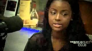 justine skye interview at the breakfast club power 105 1 06 30 2015