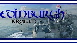 Edinburgh - Her Majesty's  ship [Kraken -133K] - World of Warships