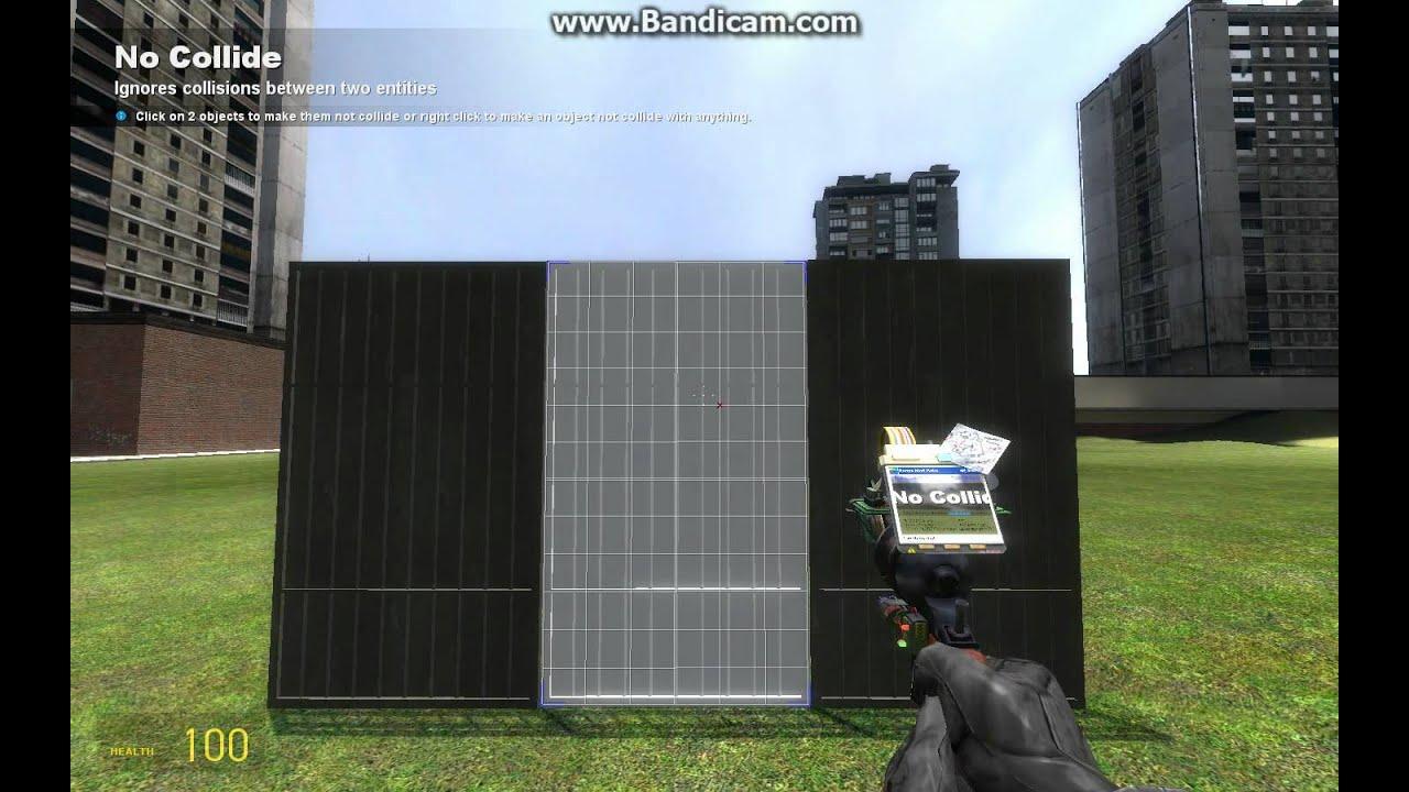 GMod Sliding Door Tutorial (No Mods)