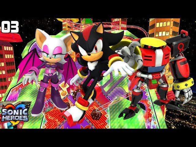 Sonic Heroes (GC) [4K] - Team Dark (3/7)