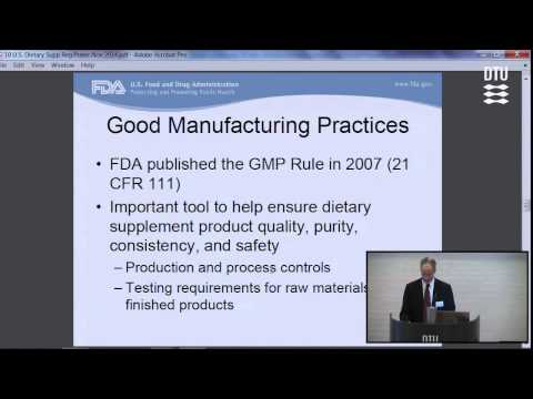 """""""The Regulation of Dietary Supplements in the United States"""" by Donald A. Prater"""