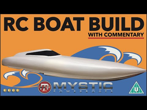RC SPEED BOAT BUILD HOMEMADE