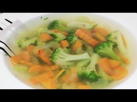 Яркий овощной суп с БРОККОЛИ/favorite Food