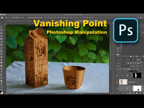 Photoshop Manipulation With Vanishing Point