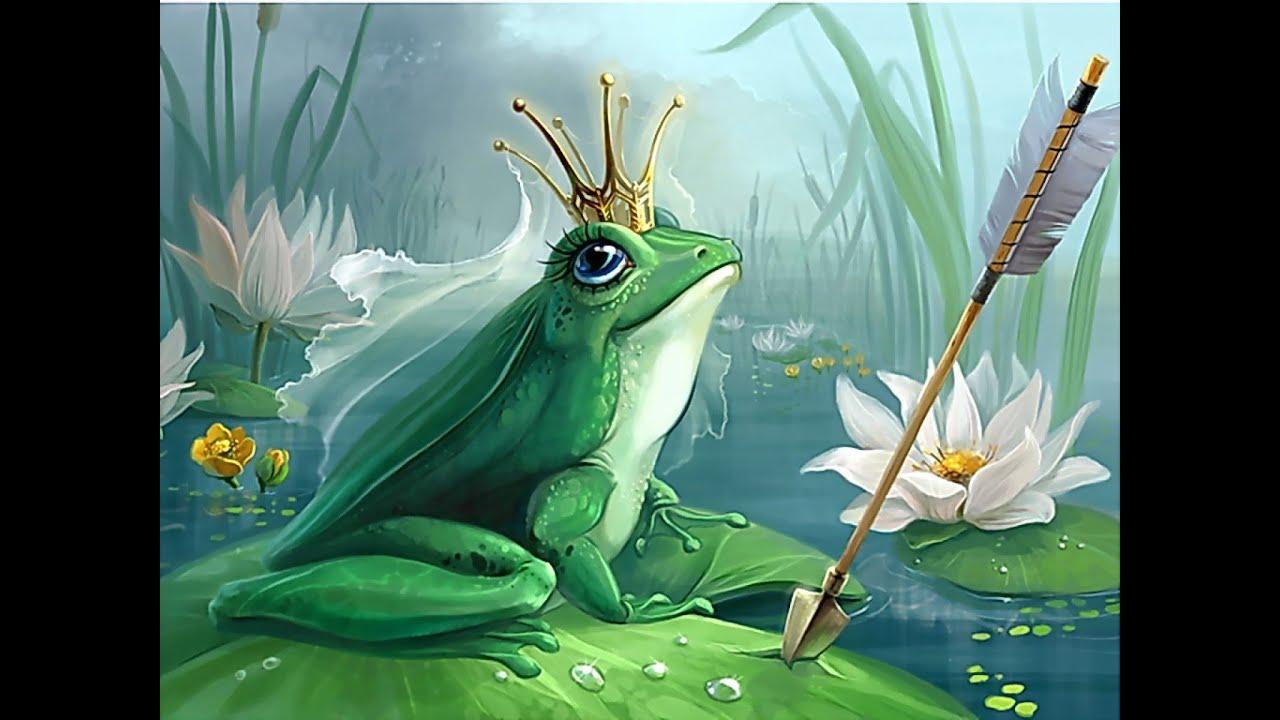 царевна-лягушка картинка для детей