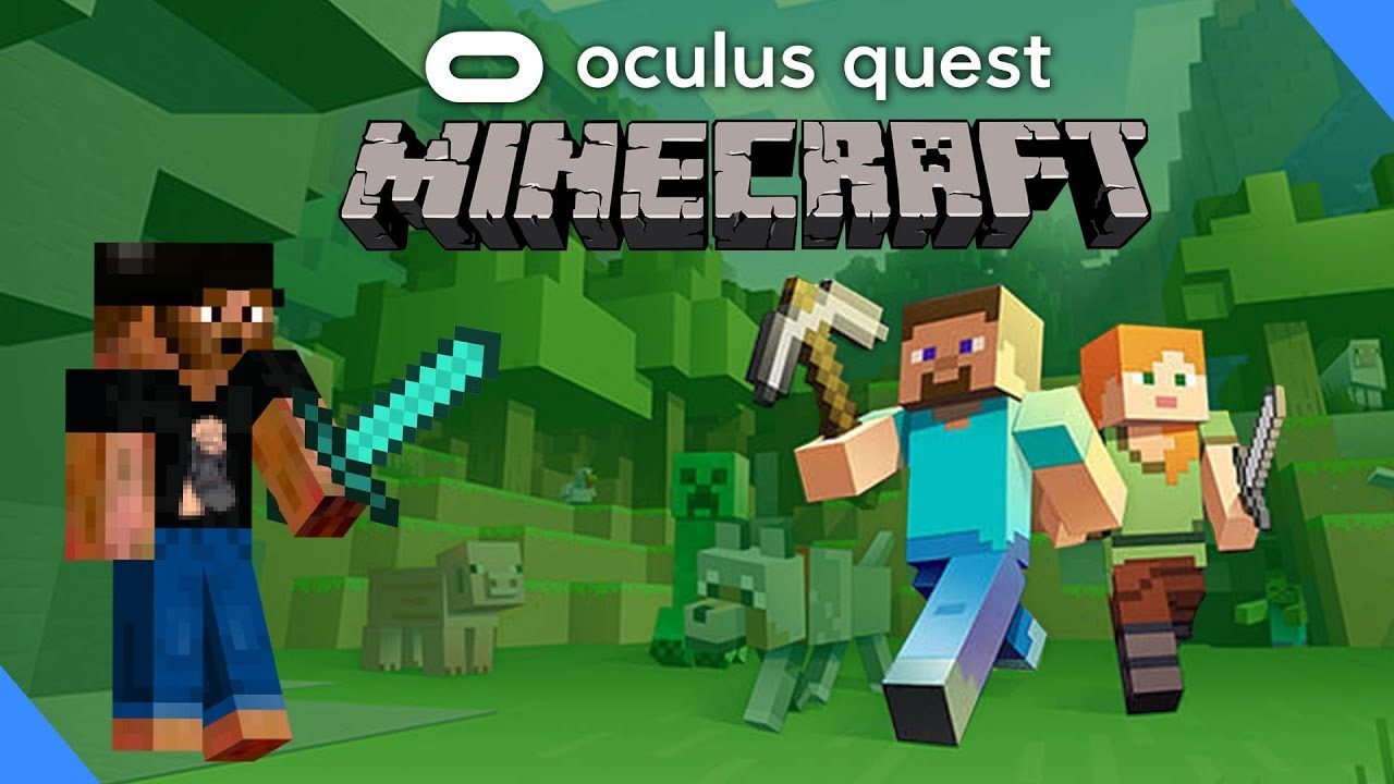 Oculus Quest Minecraft - How To Play On Virtual Desktop With Touch  Controllers