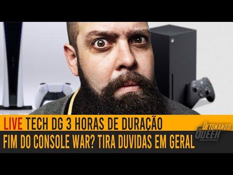 Live Tech DG – Fim do Console War? E Tira Duvidas PC, PS5, Xbox SX e muito mais
