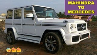 Mahendra Bolero MODIFIED to Look Like MERCEDES G WAGON ! ! !