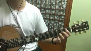 JC - 說散就散 吉他演奏 Fingerstyle